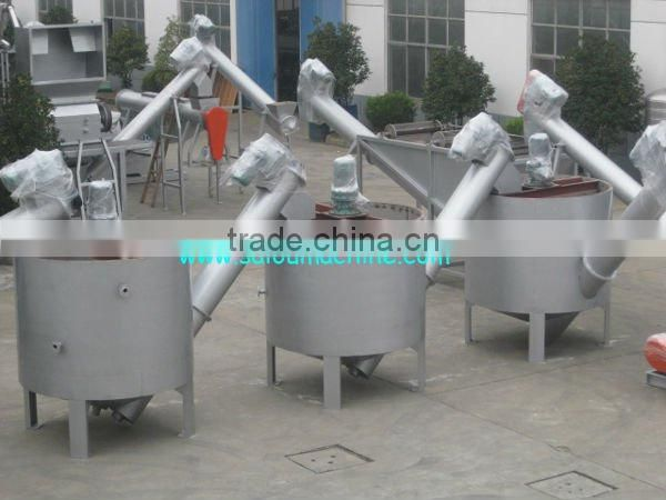 Waste PET bottle plastic recycling machine
