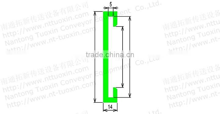G16A Profile Sideguide, Conveyor Components