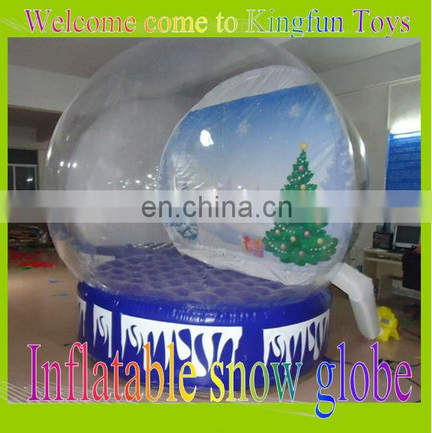 Hot inflatable globe ball for promotion