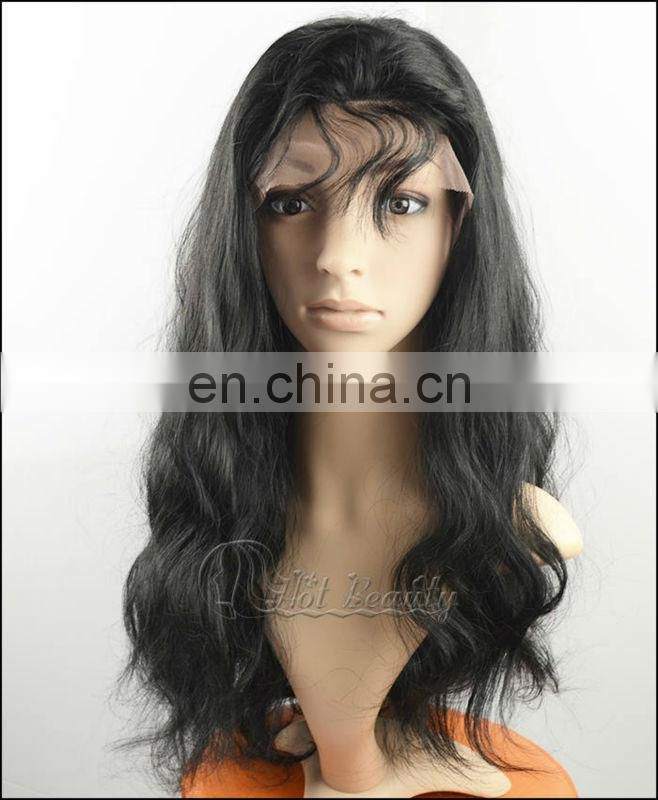 Hot Sale 100% Remy Full Lace Human Hair Wig 180 density
