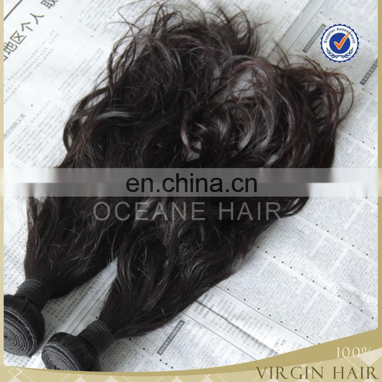 Factory Wholesale Indian Remy Human Hair mongolian Water Wave