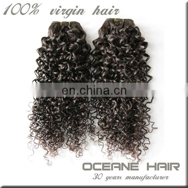 Super quality large stock fast delivery free sample wholesale supply indian natural curly weave hair