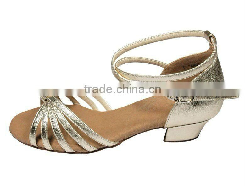 D004742 Salsa dance shoes low heel ballroom latin dance shoe