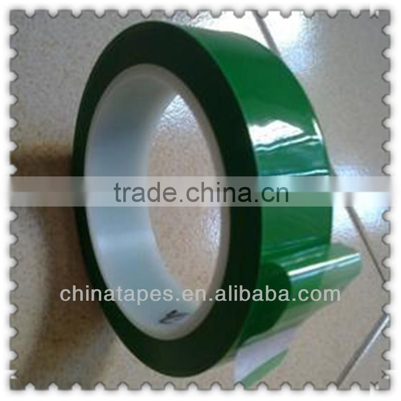 lithium terminate tape dark green, cylindrical, square lithium batteries pole ear insulation protection