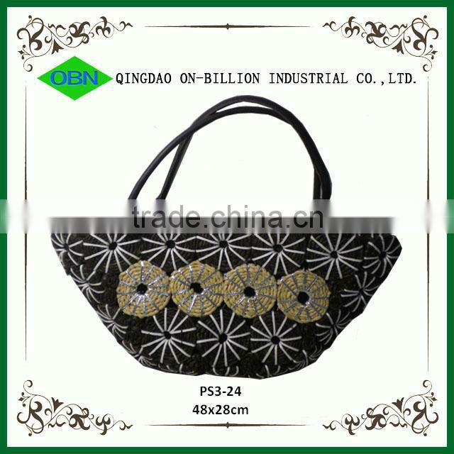 Practical 2014 cheap corn husk handbag