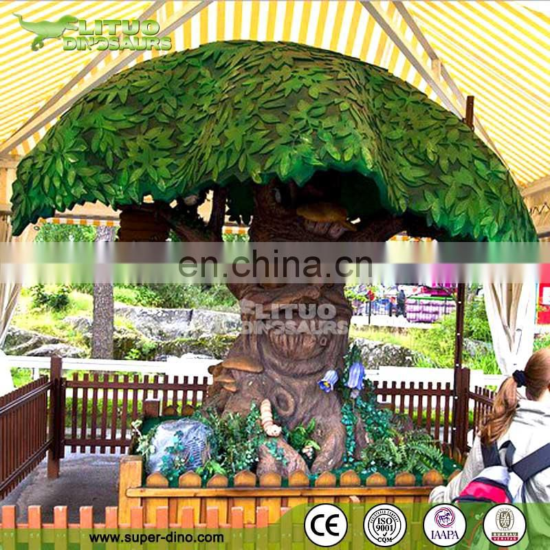 Amusement Park Decoration Animated Talking Tree