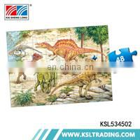 OEM 500pcs hot selling intelligence 48 pieces kids diy jigsaw puzzles manufacturers