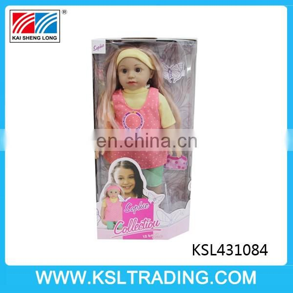 18 inch baby dolls that looks real with twelve sounds IC