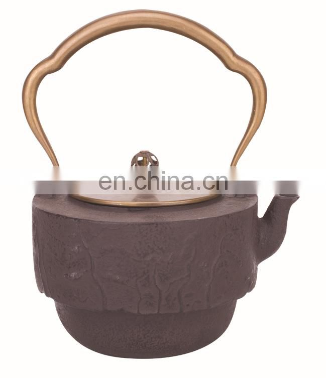 cast iron teapot 0437