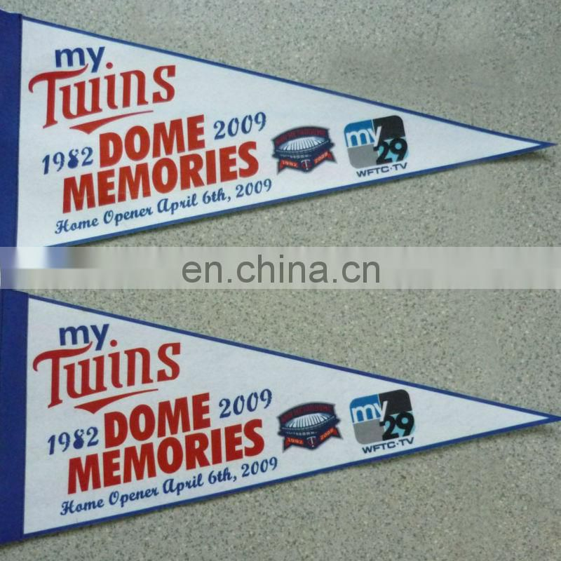colorful triangle flags pennant flags