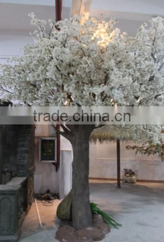 2015 factory price hot sale fiberglass cherry blossom tree artificial trees sale