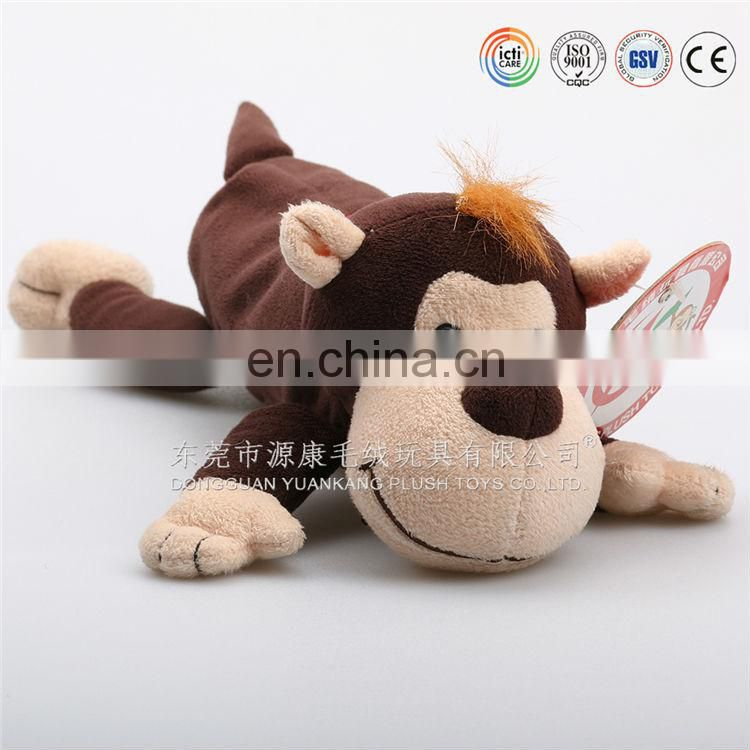 Hot sale plush animal shaped zipper pen case, plush dragon pencil case, new design dragon pen bag