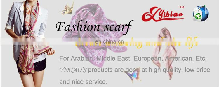 most beautiful ladies' fashion turkish printed cheap scarf by woven polyester fabric