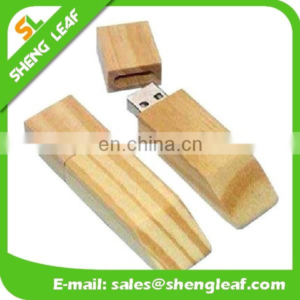 Bulk Cheap Wooden USB Flash Memory
