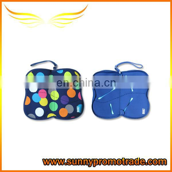 Dot Pattern Neoprene Glasses case with your logo