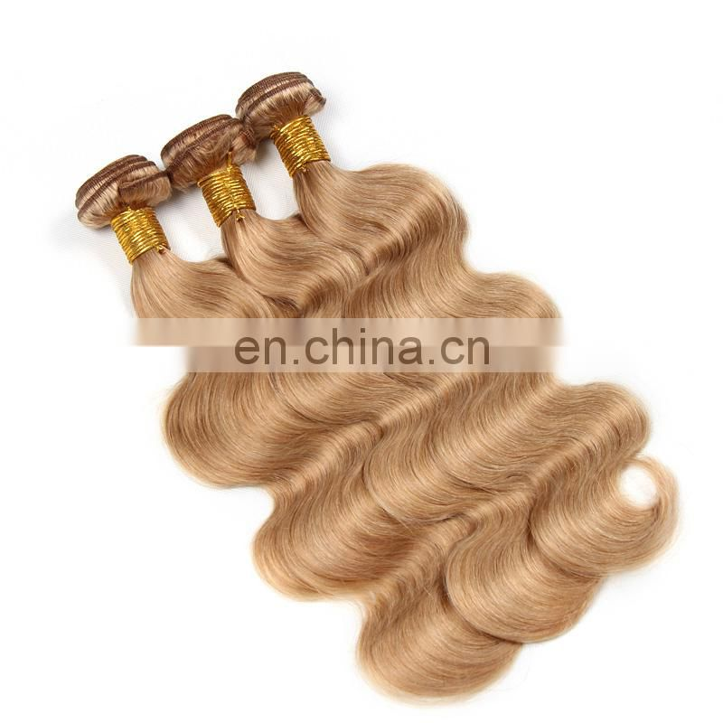 factory wholesale 6-30inch blonde remy hair extension 100% human hair