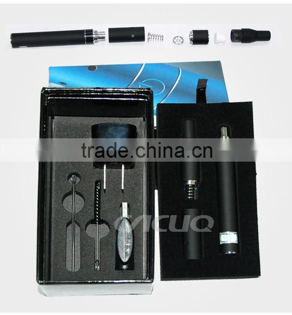 Dry herb and wax ecig mercurial vapor