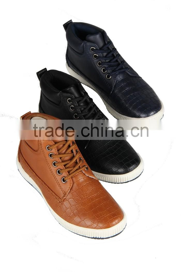 Ankle 2014 Boys Men Boots Casual OEM Production Casual Shoes