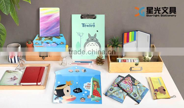 XG-3002 custom made cute printed pencil bag pvc pencil bag