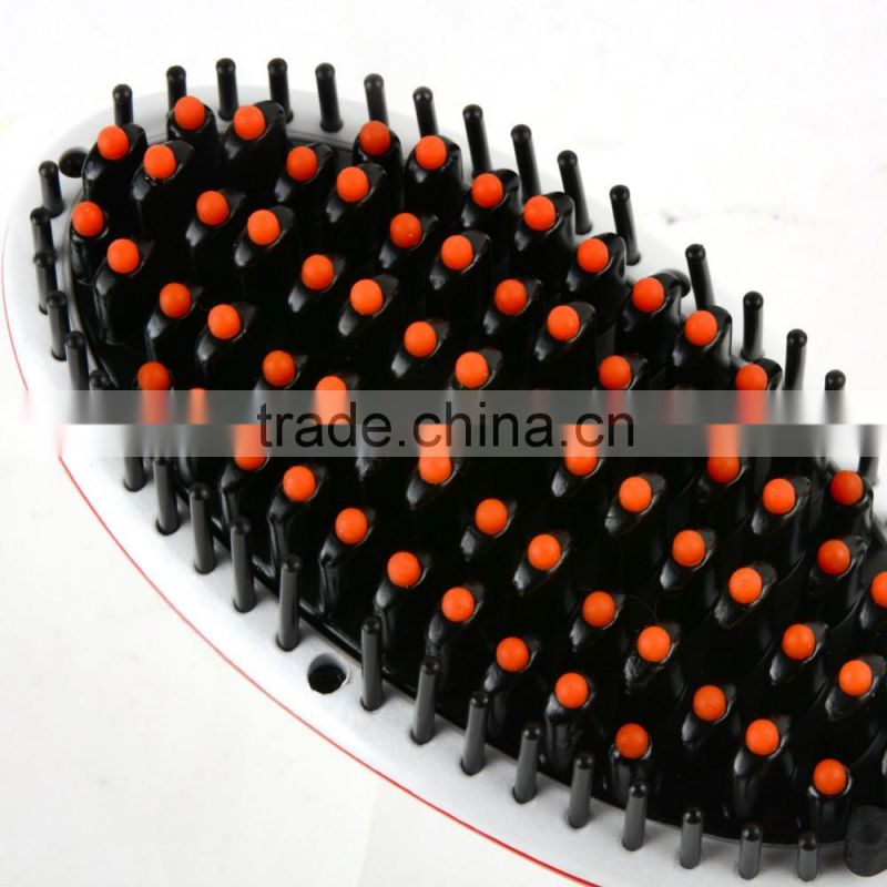 Professional Hair Straightener Comb LCD Display Electric Heating Straightening Irons Hair Brush Heating Comb