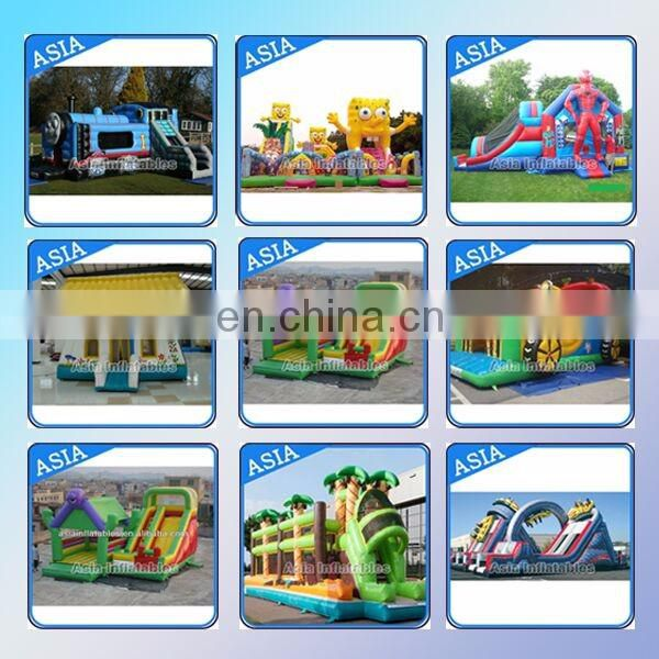 Hot Selling Big Aqua Run Obstacle Course / Inflatable Infrared Challenge For Sale