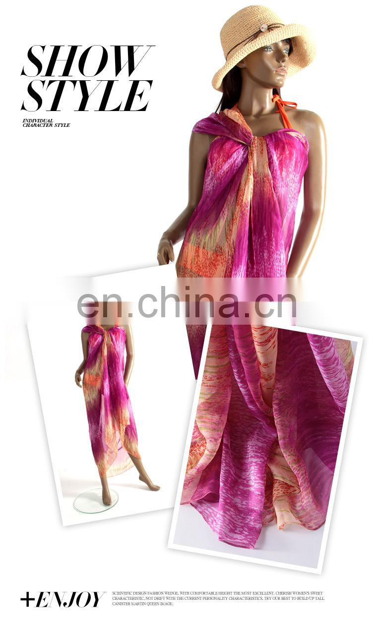 New Arrival Beach Wrap Skirt, Chiffon Swimsuit Scarf Seaside Beach Towels