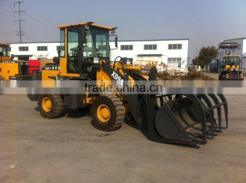 XD918F 1.6T alibaba express Grass Grasp Grass Loader(Farm Machinery or agricultural equipment) with CE FOR SALE MADE INI CHINA