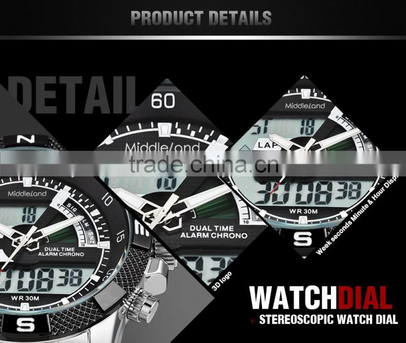 Chronograph wrist watch,Chinese stainless steel watches.wholesale china watch