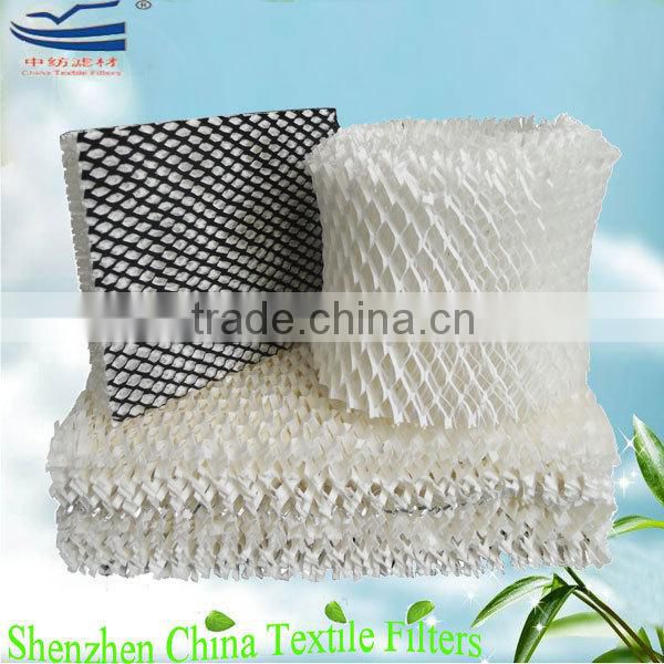 Evaporative humidifier air cooler padding
