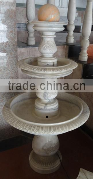 Rolling Ball Fountain for Garden Decoration