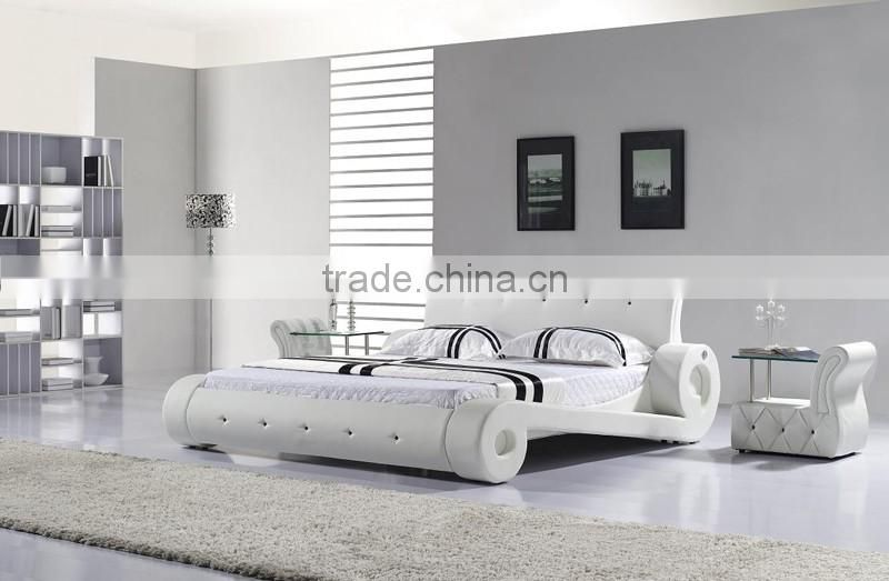 Custom Made Commercial Hotel Bedroom Furniture Double Beds Set