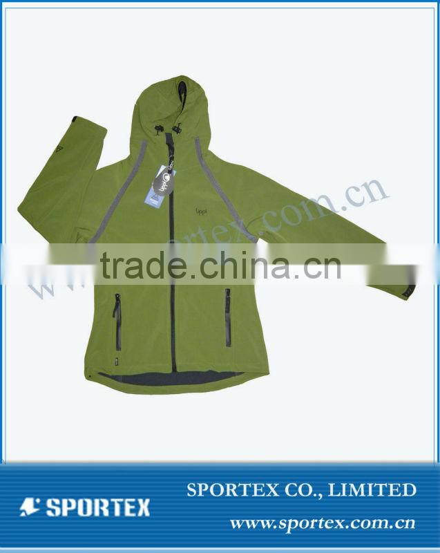 Functional OEM hot softshell jacket, sports jacket, hot softshell jackets#SSJ-0410