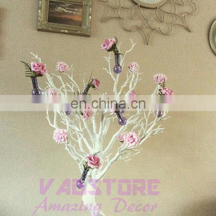 love beauty beautiful white wedding table centerpiece plastic wish tree