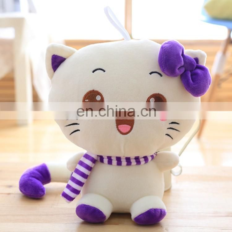 High quality customized design cute lifelike cat plush toy