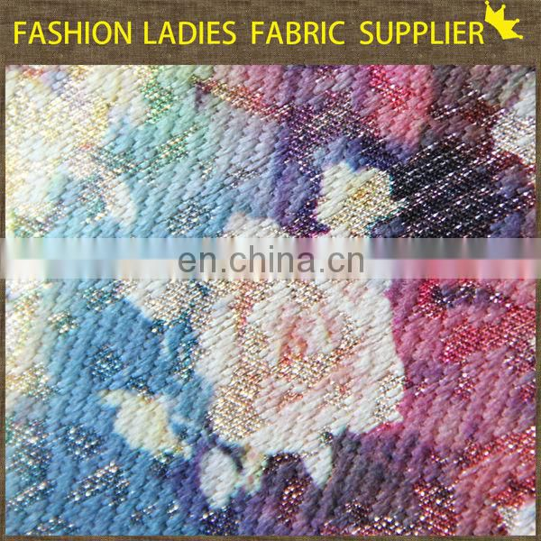 Onway Textile 100% Polyester Jacquard Woven Fabric For Winter Clothes