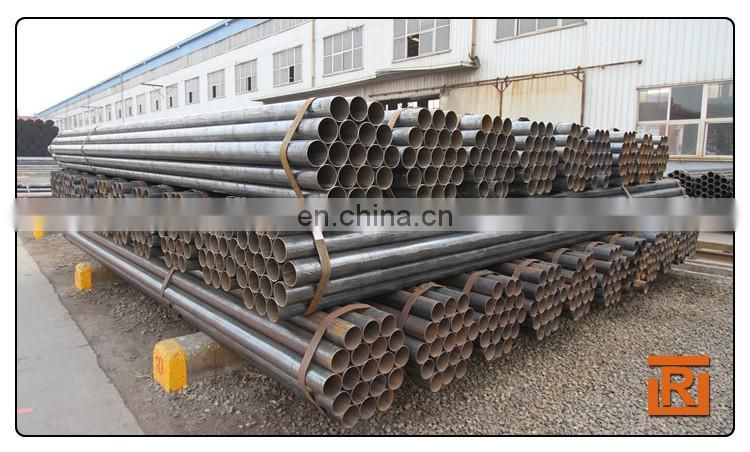 2'', 4'' OD ERW round steel pipe, thickness 2.5mm welded steel tube high strength