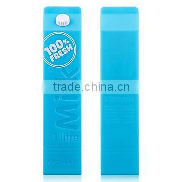Factory wholesale promoting gift milk style power bank 2600mAh