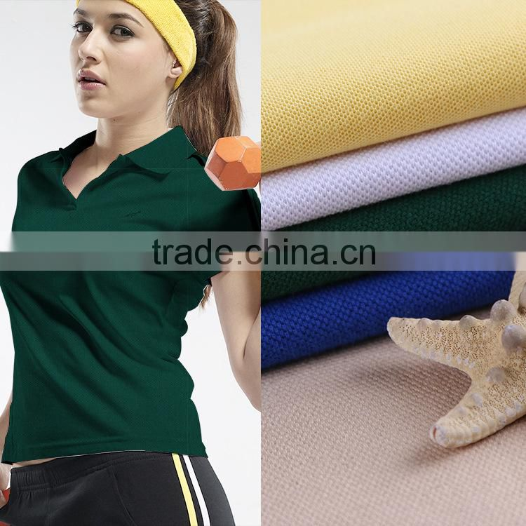 2015 Low Cost High Quality 60 polyester 40 cotton fabric sweat fabric spun polyester cotton feel fabric for Sportswear