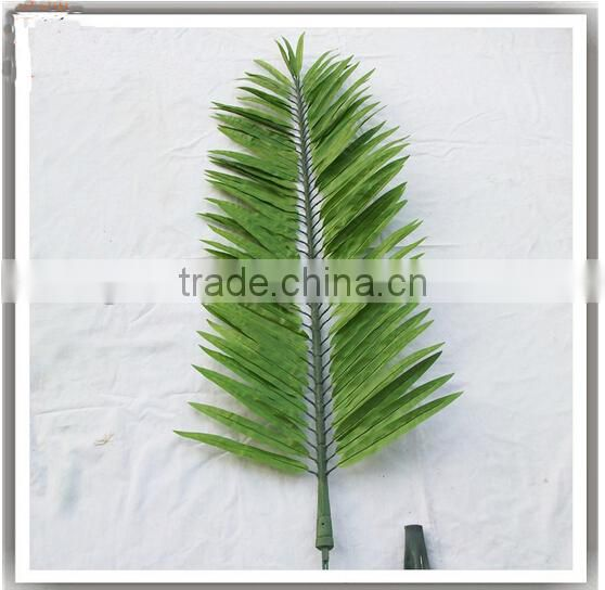 fake plastic palm leaf manufacture garden handmade Artificial palm leaf/branch