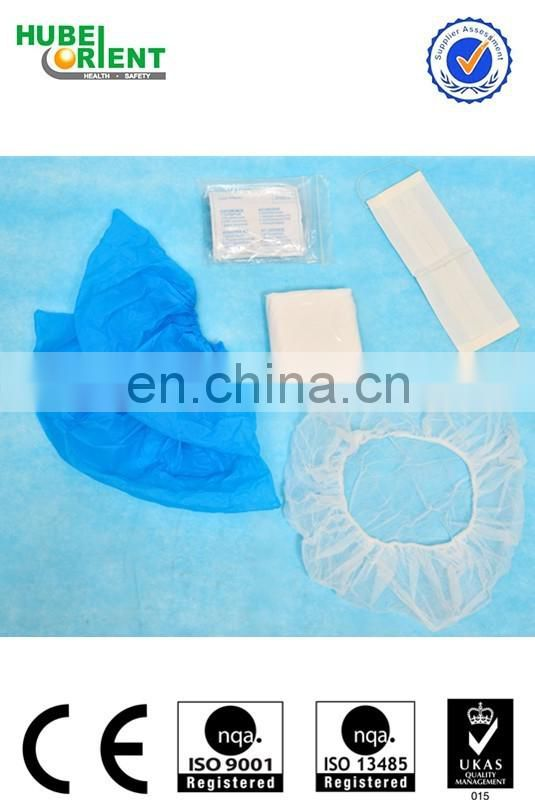 hospital medical sterile visitor kit
