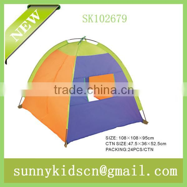 children foldable fabric 4surface tent for outdoor