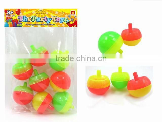 2013 hot sale transparent plastic party favors Top Small Toys