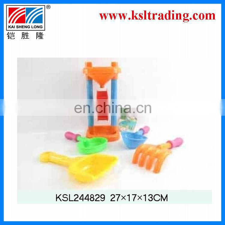 5pcs new design lady bright plastic kids beach toys