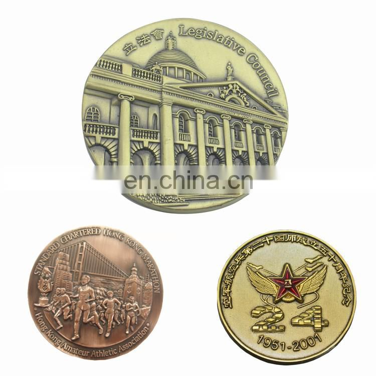 Souvenir coin maker gold coin