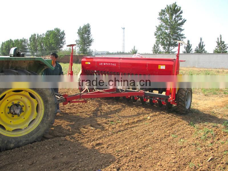 Working width 5.6m hydraulic type tractor agriculture farm 36 rows alfalfa wheat sesame seed planting machine
