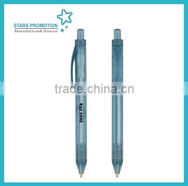 2016 best seller plastic pen with customized imprint or design
