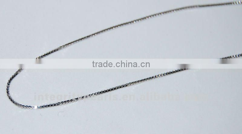 Sterling Silver Box Chains SCR014