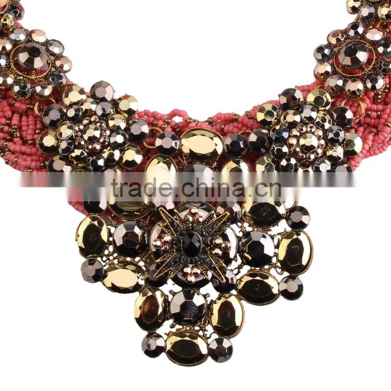 Accessories for women beads necklace costume jewelry