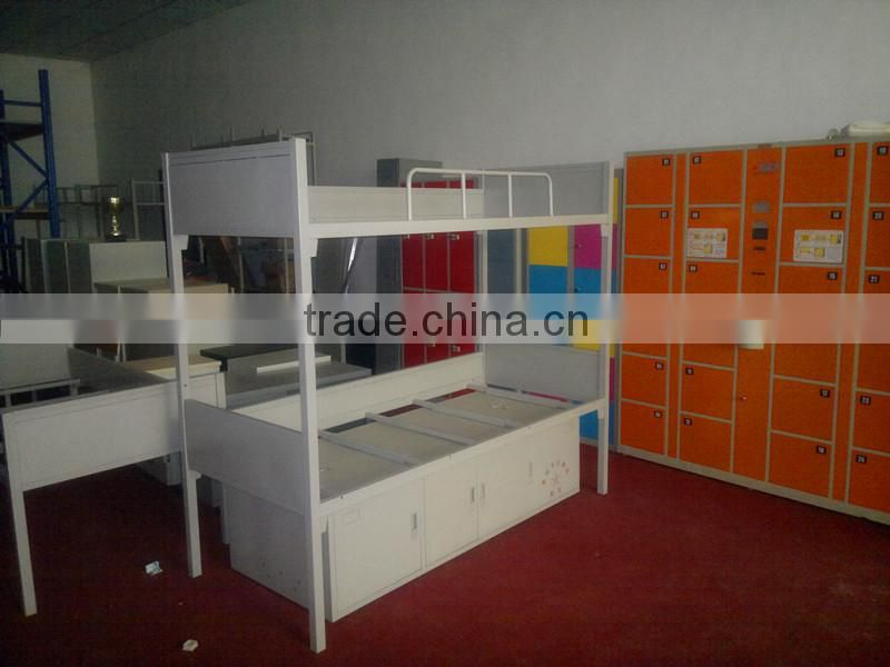 China manufacturer steel bunk bed stainless steel bed