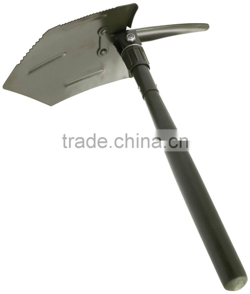 Folding Shovel Black Nylon Handle